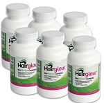 Hairglow Vitamins Complex - 6 Months supply