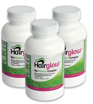 Hairglow Vitamins Complex - 3 Months supply