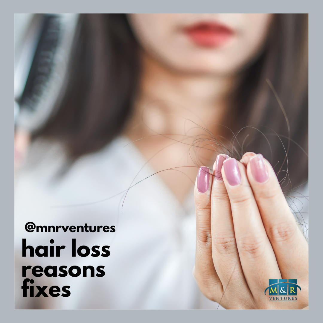 Most Common Causes of Hair Loss (Including Stress) & How To Treat Them