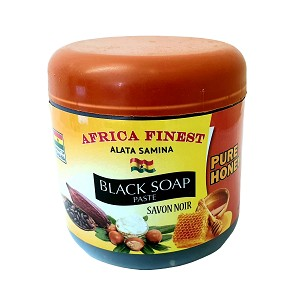 Africa Finest Black Soap Paste (Pure Honey) 450g